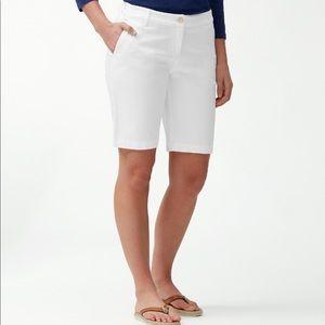 Tommy Bahama Women's White Bermuda Shorts